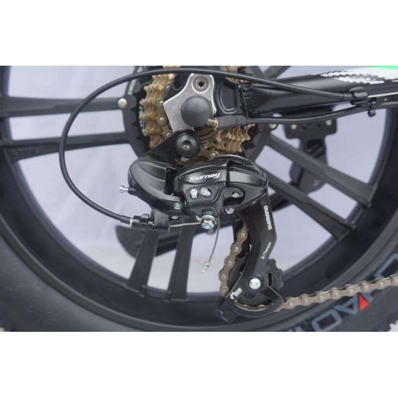 Bici Elettrica Fat Bike Reset 2019 Redwoodx